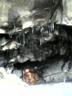 富岳風穴入り口