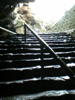 富岳風穴出口