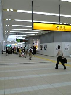 東小金井駅構内