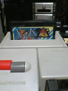 ファミコン本体とカセット
