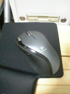 コードレスのマウス
