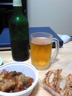 ビールとか惣菜とか