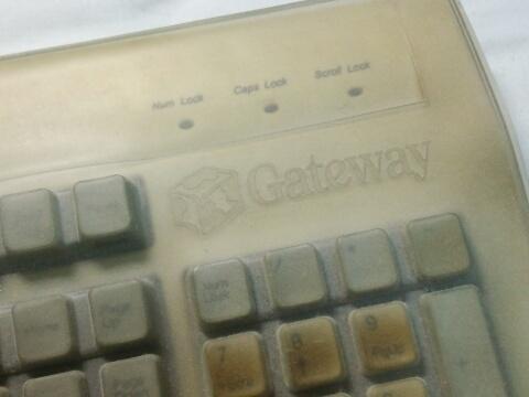 ゲートウェイのキーボードカバー