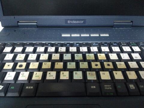 エプソンのキーボード