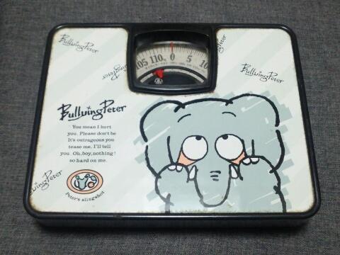 古い体重計